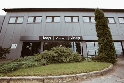 Jeep tuli lõunaeestlasele lähemale: Carring AS avas uue müügi- ja teenindussalongi